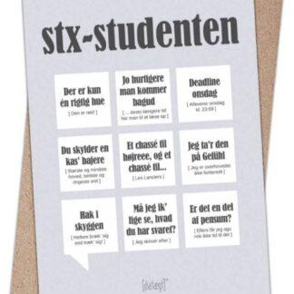 Dialægt kort til rød student