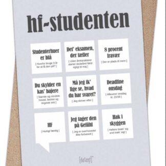 Dialægt kort til blå student