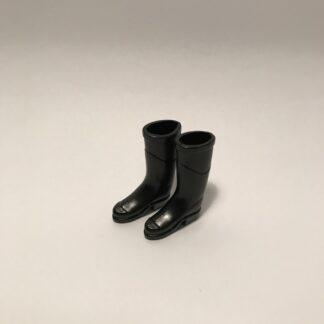 Sorte gummistøvler