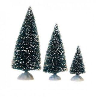 3 pak juletræer