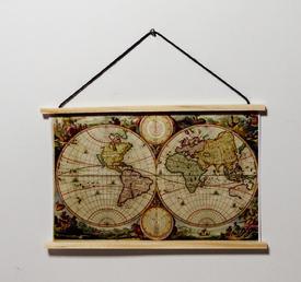 Antikt verdenskort