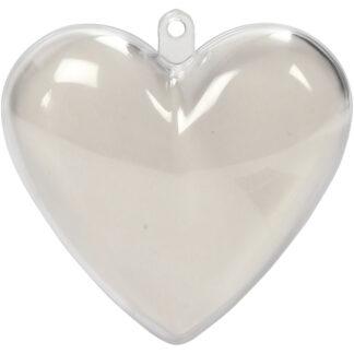 DIT/gør det selv hjertedekorationskugle
