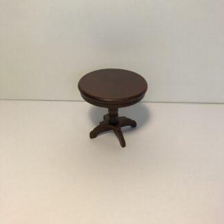 Lille rund mahogni bord