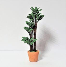 Palmetræ i keramik urtepotte
