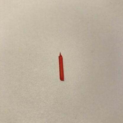 Røde stearlys