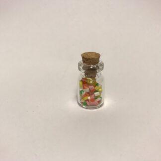 Frugtkugler i glaskrukke