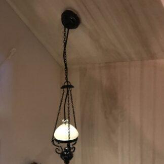 Olie loftslampe
