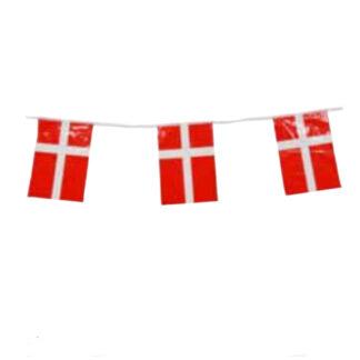 Stor flagguirlande i plast